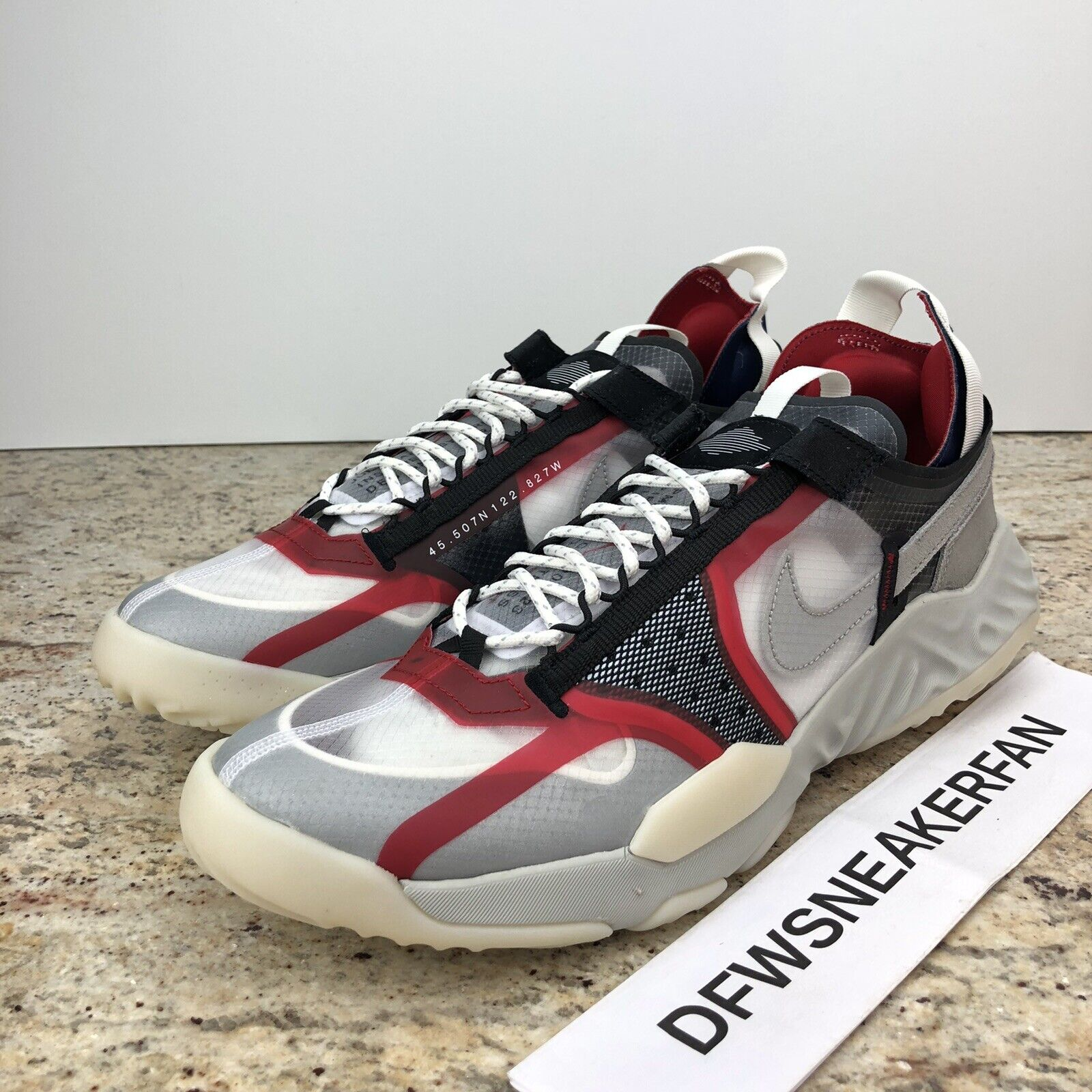 Nike Air Jordan Delta Breathe Gray Bone CW0783 901 Men's 11.5 New