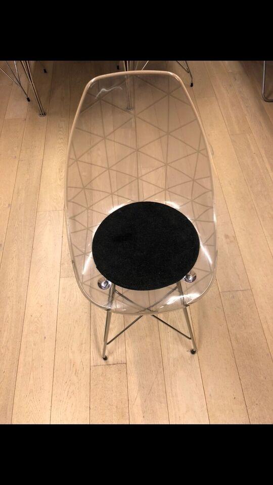 Spisebordsstol, Akryl, Ide møbler