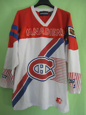 Maillot Hockey Glace Canadiens Montréal Vintage Starter 80'S jersey - TG / XL