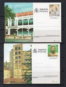 Espana-Monumentos-Enteros-Postales-ano-1985-DQ-634