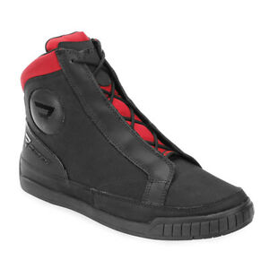 c9e2161a393 Details about Bates Taser Motorcycle Boots Black/Red Men's