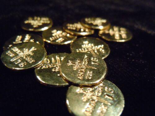 USA BULLION 1g 22K PLACER GOLD ROUND/'S FROM THE MINE APM 3-1 GRAM BAR