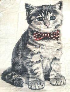 Cat-Kitten-Print-Throw-Large-Blanket-Super-Soft-150-x-200cm-NEW