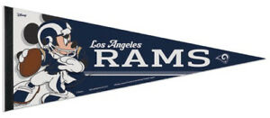 1a1acc3f98a Los Angeles Rams MICKEY MOUSE QB Disney Premium Felt Collectors ...