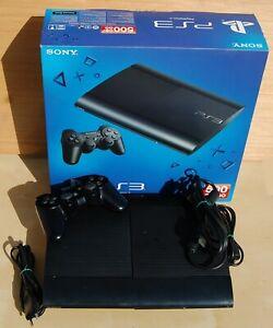 Consola Playstation 3 super slim negra cech-4204C - Hdd 500 Gb en caja original