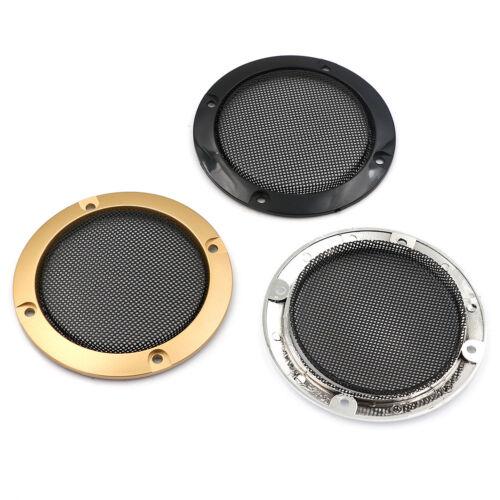 "3/"" inch Audio speaker cover decorative circle metal mesh grille 2 Pcs"