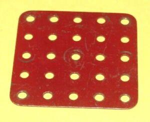 various Vintage Meccano Flat plates Multi listing