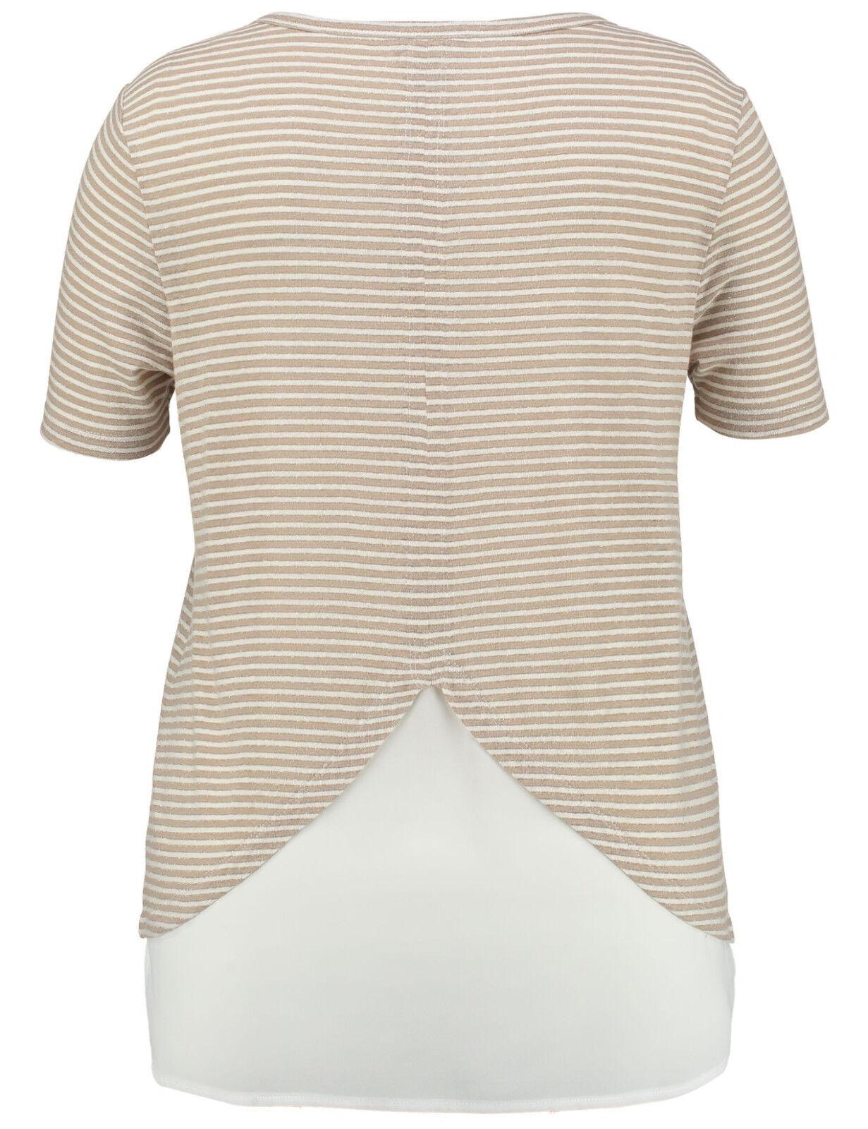 ba9a982146 Samoon cuciture-shirt nel layer-look by Gerry Weber Weber Weber ...