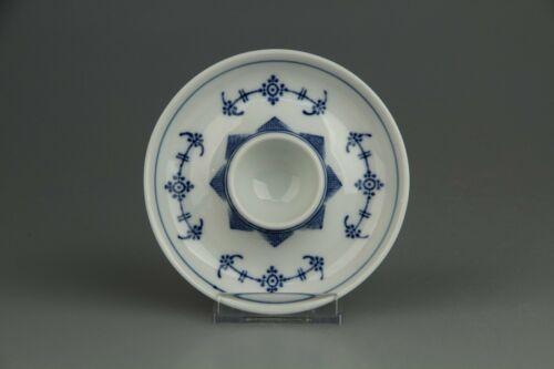 Eierbecher mit Schalenablage D 12 cm Unbekannter Hersteller Indisch blau