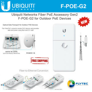 NEW Ubiquiti Networks FiberPoE Gigabit Ethernet F-PoE
