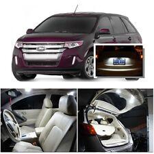 For Ford Edge 2007-2014 Xenon White LED Interior kit + White License Light LED
