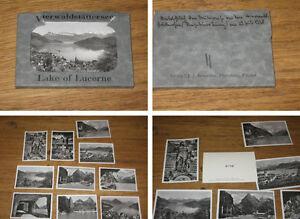 10 echte Photographien vom Vierwaldstättersee Lake of Luzern 1938 - Deutschland - 10 echte Photographien vom Vierwaldstättersee Lake of Luzern 1938 - Deutschland
