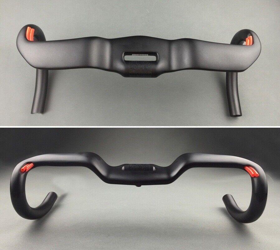 Full Carbon Road XC Bike Racing Drop Bar rise Handlebar Handlebar Handlebar 31.8mm 38 40 42 44cm 93b38c
