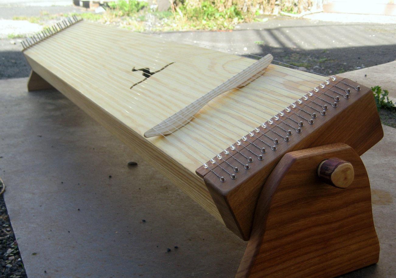 Monochord 120cm - mit Schwenk-Füßen - günstig und robust - von Spiritsoundart