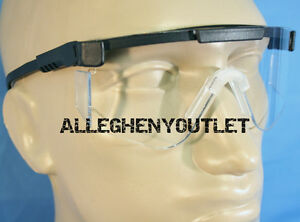LOT-of-2-PAIR-ARMY-Military-Surplus-SPECS-Ballistic-Safety-Shooting-Glasses