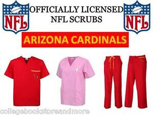 Image is loading ARIZONA-CARDINALS-SCRUB-TOP-ARIZONA-CARDINALS-SCRUB-PANTS- 1df35a243