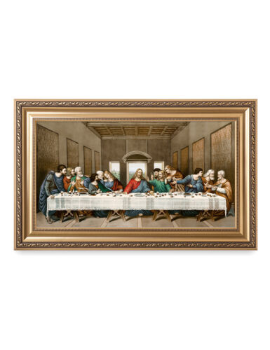 Reproduction.Giclee Print Living Room Framed Wall Art DecorArts-The Last Supper
