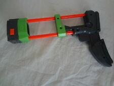 Nerf Vortex Praxis Shoulder Stock Disc Green Orange Grey N-STRIKE