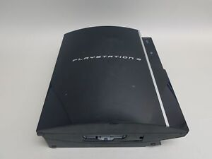 Sony-CECHH01-PlayStation-3-Black-Console-FOR-PARTS-REPAIR-NO-HDD