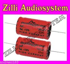 AZ AUDIOCOMP coppia condensatori serie First NP.47R/b    da 47 uF Nuovi