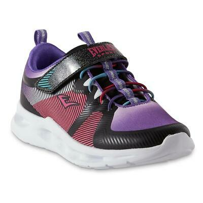 Lights Up Everlast Sport L.A Purple /& Pink Black Youth Tennis Shoes