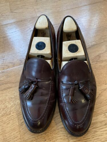 Alden 772 10C Color 8 Shell Cordovan tassel loafer