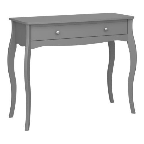 Console Table Baroque Table D/'Appoint Téléphone Table Coiffeuse Table De Coiffure Gris