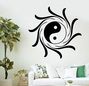 Image Is Loading Wall Decal Buddha Yin Yang Lotus Mandala Mantra