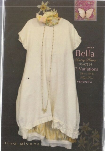 PATTERN - Bella - women's sewing PATTERN from Tina Givens