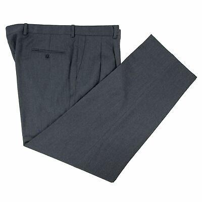 Zanella NWT Dress Pants Size 30 Yellow Silk//Wool Nico Side Tabs Inverted Pleats