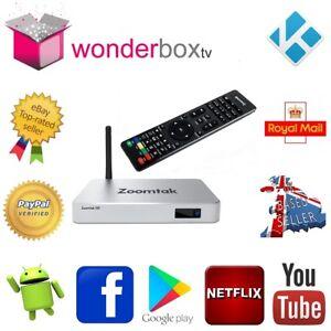 Details about Zoomtak H8 Quad Core 2Gb RAM Android 7 1 Nougat Smart TV Box  18 1 Leia Wonderbox