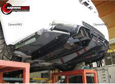 2008-2013 BMW E92 E93 M3 CARBON FIBER 2D VA STYLE REAR DIFFUSER LIP