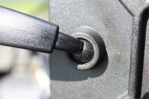 "UTV POLARIS RZR 1.75/"" REAR-VIEW OR SIDE-VIEW HIGH IMPACT CONVEX MIRROR"
