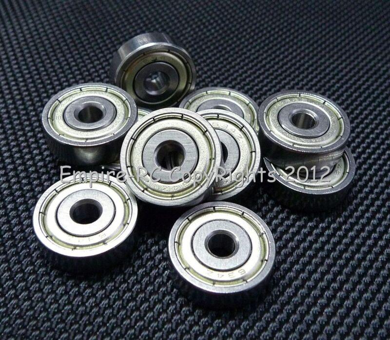 2x5x2.5mm für Tamiya Kyosho Traxxas Hpi Metall Geschirmt Kugellager 25 Pcs