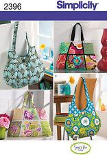 Patrón de costura simplicidad Tote Bag Accesorios 2396 un