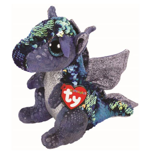 TY Beanie Babies TY Beanie Babies Landon the Purple Dragon