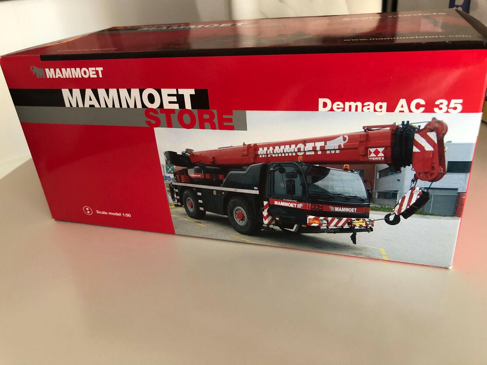 NZG Demag AC35 Mobile Crane Mammoet Brand New