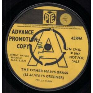 PETULA-CLARK-Other-Man-039-s-Grass-7-034-VINYL-UK-Pye-Promo-B-W-At-The-Crossroads