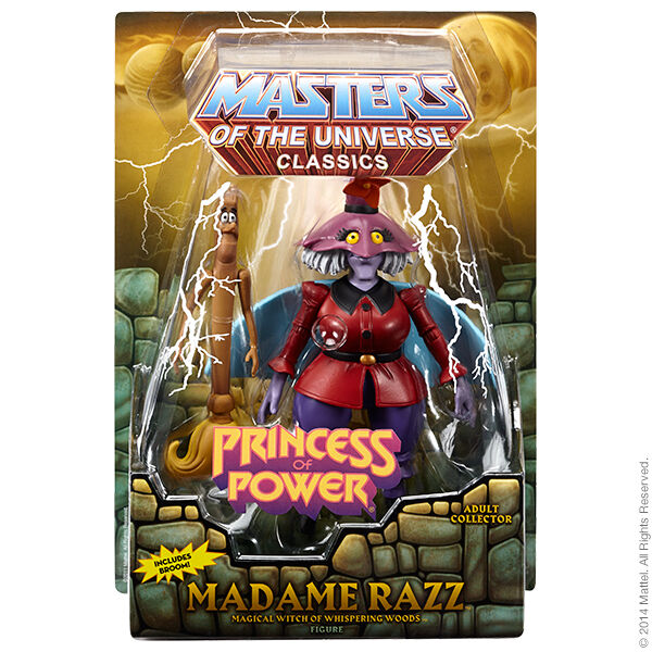 Madame Razz & Broom 2014 Motu Masters Of The Universe Classics He Man Nuevo &