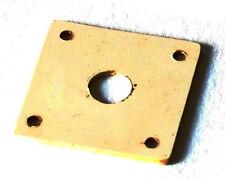 Aged LP Jack Plate Bone White GuitarSlinger Parts fits to Les Paul ®