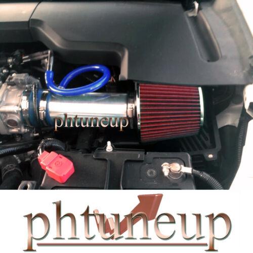 RED FILTER BLUE 2009-2013 ACURA TL 3.5 3.5L 3.7 3.7L V6 AIR INTAKE KIT SYSTEMS