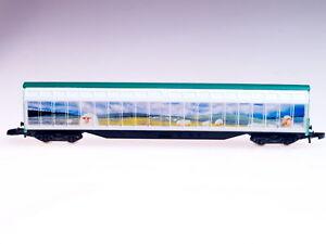 Marklin-Z-scale-High-Capacity-Sliding-Wall-Box-car-IRELAND-with-sheep