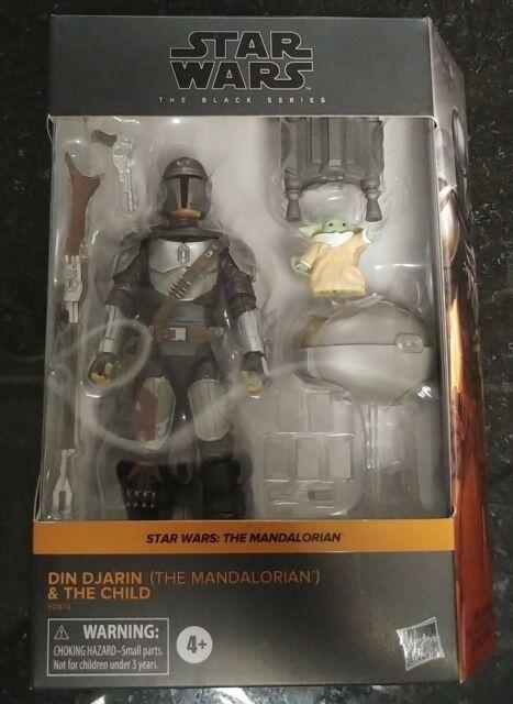 Star Wars Black Series Din Djarin/Mandalorian & Child (Target excl) Ships FREE!