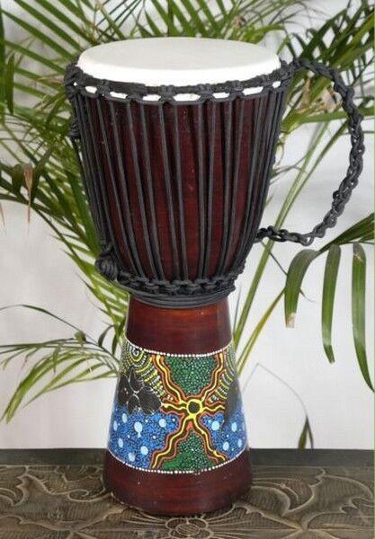 NEU 50 cm Edle Djembe Bongo Afrika Style Trommel 01a