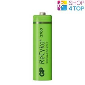 GP-RECYKO-2700-RECHARGEABLE-AA-BATTERY-2600mAh-HR6-270AAHCB-MN1500-1-2V-NEW