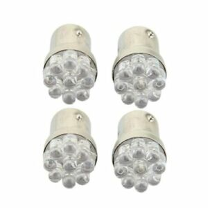 4-x-1157-BA15S-9-LED-Ampoule-Lampe-Feux-Lumiere-Rouge-12V-pour-Voiture-T8O2