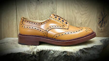 TRICKERS: Bourton Shoes (Style 5633/4) Acorn Antique Size 10 NOW REDUCED!!!
