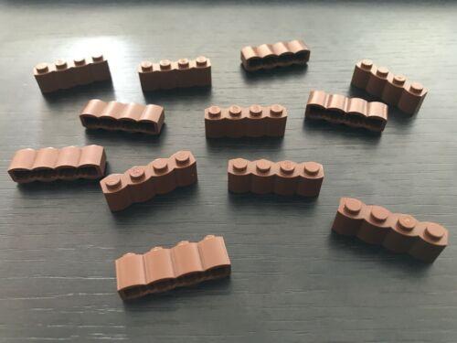 12 x LEGO WESTERN OldBrown brick log ref 30137 Set 6769 6762 3225 7419 6763 6766