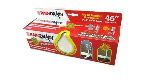 RainDrain Automatic Downspout The Original Rain Removal System White NIB