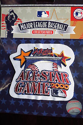 MLB Official 2000 All Star Game Patch Atlanta Braves